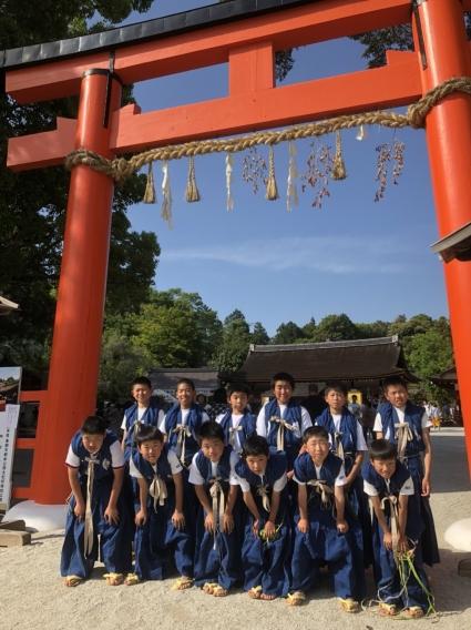 上賀茂神社 競べ馬