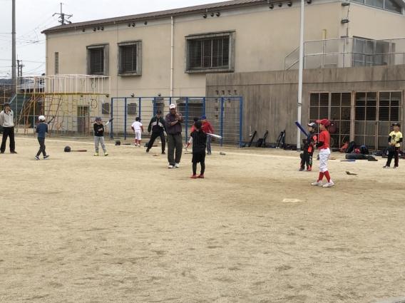 野球体験教室終了しました。